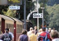 Rush-hour in Drei Annen Hohne Station