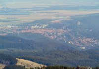 View from Brocken mountain