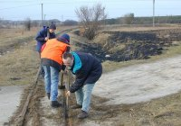 Crossing maintenace in Rawa Zamkowa Wola