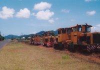 The Main Street in Garradunga, more locos than cars!