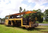 Cane Tramway 2' Gauge Track Machine at Silkwood on Sth Johnstone Mill Lines