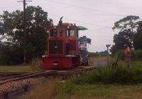 Weed killer train, Tully Mill.
