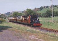 Maid Marian and train
