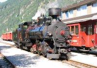Zillertalbahn No 4 at Mayrhofen 3/7/2005