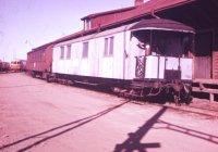 Metre gauge coach