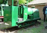 Baugley petrol loco