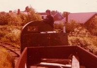 5906 on the West Lancashire Light Railway in the 70s