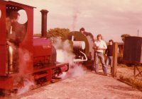 On the West Lancashire Light Railway in the 70s