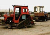 A pair of tractors