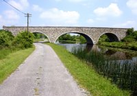 Crossing the Royal Canal