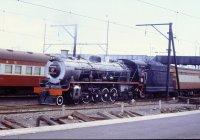 Steam loco near Cape Town