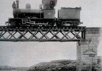 Engine on Pedios River 1905