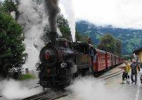 Zillertalbahn nbr. 5 at Ramsau Hippach